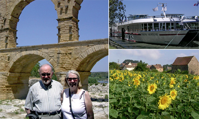 Hideaways Members Castros in Southern France with Viking River Cruises