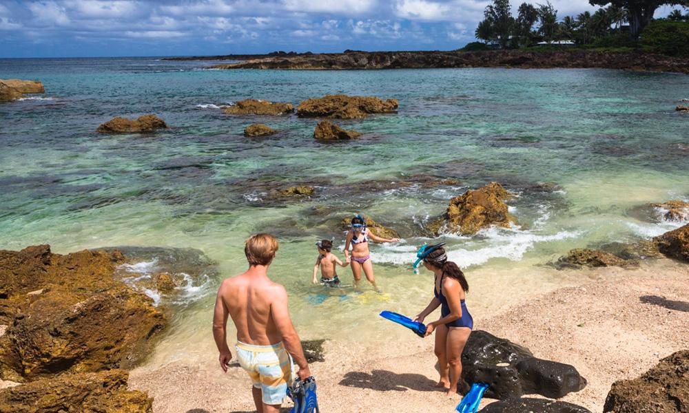 Summer Family Hawaii Snorkel