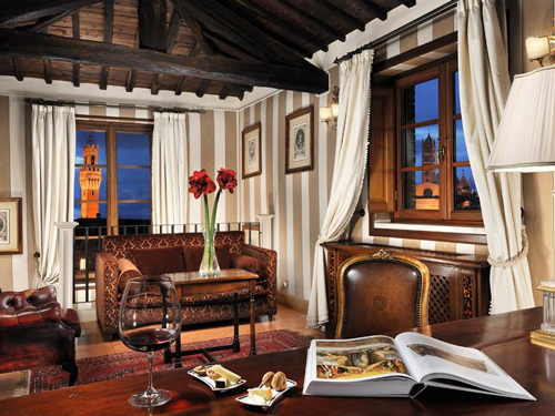 Grand Hotel Continental - Siena, Italy
