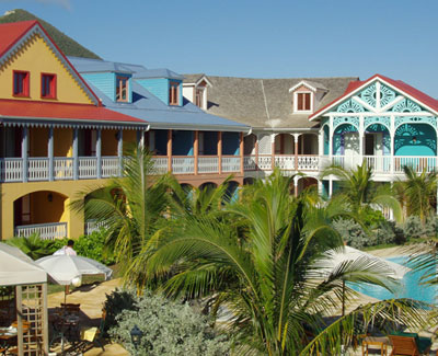 Alamanda Resort - St. Martin - Pool and Gardens