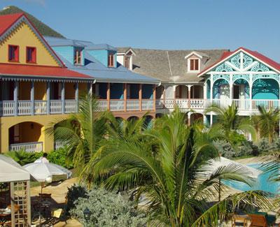 Alamanda Resort - St. Martin - Pool and Gardens