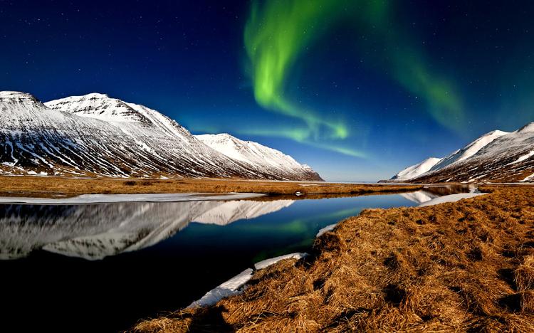 Hedinsfjordur, northern Iceland