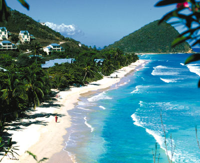 long bay beach: